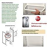 2 PACK W10321304 refrigerator Door Shelf Bin with