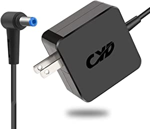 CYD 65W Powerfast Laptop Power Cord Compatible for Acer Aspire One Charger m5 a150 d150 d250 d255 d260 d270 a110 ao532h ao722 nav50 pav70 chromebook c710 ac700 e100 dp-30jh b adp-40th a pa-1300-04