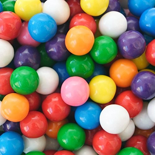 Concord Dubble Bubble Gum Balls (0.5 In) - 3 Lbs Goodie Gumballs