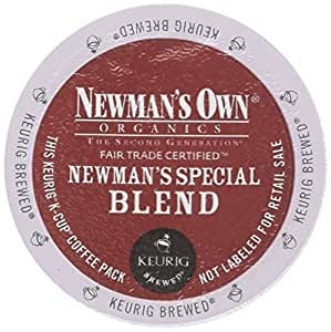 Newman's Own Organics Special Blend Extra Bold Coffee Keurig K-Cups, 18 Count