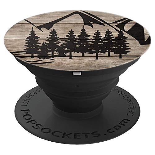 - Wood and Tree Nature Pop Socket - Design Series - PopSockets Grip and Stand for Phones and Tablets