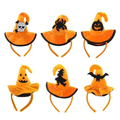 cici store Women Kid Halloween Hair Hoop Cap Pumpkin Hat Headband Party Costume Cosplay New
