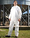AMZ Disposable Coverall. White Adult