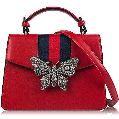 Red Designer Handbags - 5
