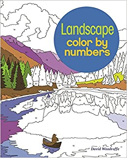 amazon landscape color by numbers martin sanders david