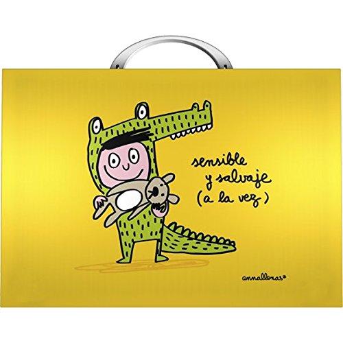 Grafoplas Anna Llenas - Maletín, multicolor: Amazon.es: Oficina y papelería