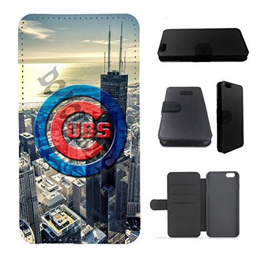 cubs iphone 6 plus case/iphone 6s plus/iphone 6 + case wallet flip case