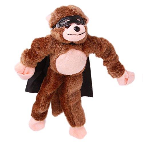 LXT&YY 6pc Slingshot Flying Screaming Monkey Toy Flingshot Dog