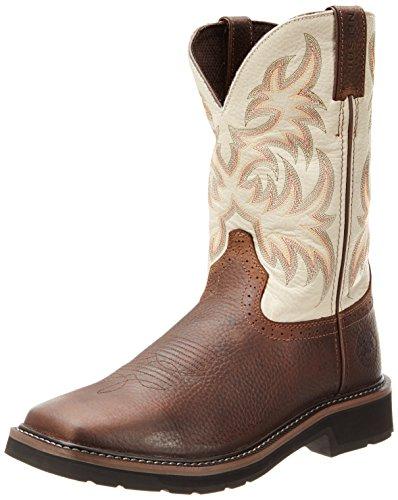 Logger Justin Boots (Justin Original Work Boots Men's Stampede Work Boot,Copper Kettle Cowhide,11 EE US)