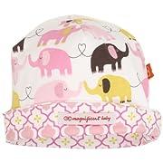 Magnificent Baby Baby-Girls Newborn Reversible Cozy Cap, Elephant/Marrakesh, One Size