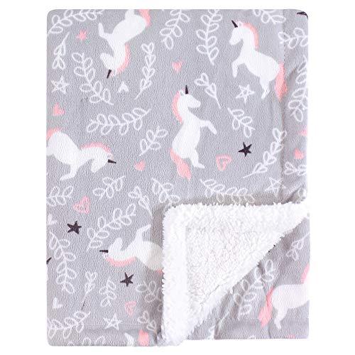 Best sherpa unicorn blanket for girls list