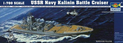 - Trumpeter USSR Navy Kalinin Battle Cruiser Building Kit