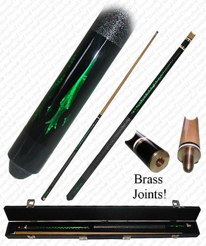 (Emerald Green Designer Pool Stick (fls))