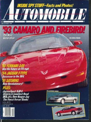 Firebird Type (AUTOMOBILE 1993 Camaro Firebird Ferrari 348 Jaguar F-Type Saturn 12 1989)