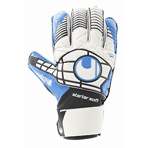 Uhlsport Player (Uhlsport Eliminator Starter Soft Gloves [White/BK/EB] (8))