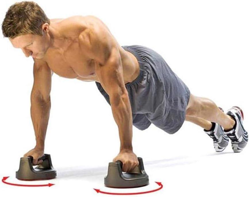 Fitness Equipment - Soporte Circular con Mango ergonómico ABS y ...