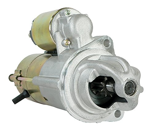 New Starter for 4.6L(281) V8 CADILLAC ALLANTE 93 1993, ELDORADO 93 94 95 96 97 98 99 00 01 02 1993 1994 1995 1996 1997 1998 1999 2000 2001 2002 1.6KW CW Rotation PMGR Starter Type 9T Tooth Count 12V