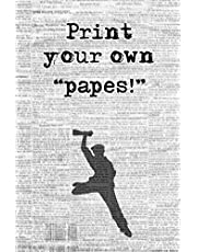 """Print Your Own """"Papes!"""": Blank Journal and Broadway Musical Gift"""
