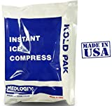 Primacare Instant Cold Pack Ice Compress 5 Inch x 7 Inch Cold Therapy ''Made in USA''