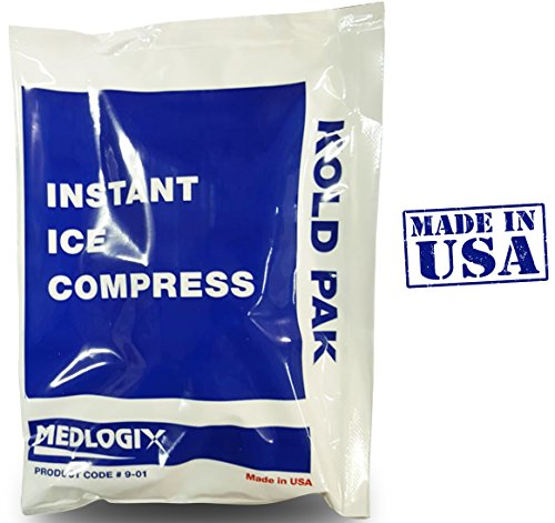 Primacare Instant Cold Pack Ice Compress 5 Inch x 7 Inch Cold Therapy ''Made in USA'' by Primacare Medical Supplies