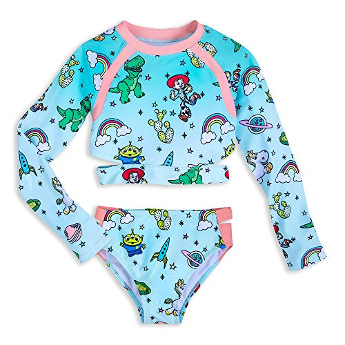 (Disney Toy Story Two-Piece Swimsuit for Girls Size 5/6)