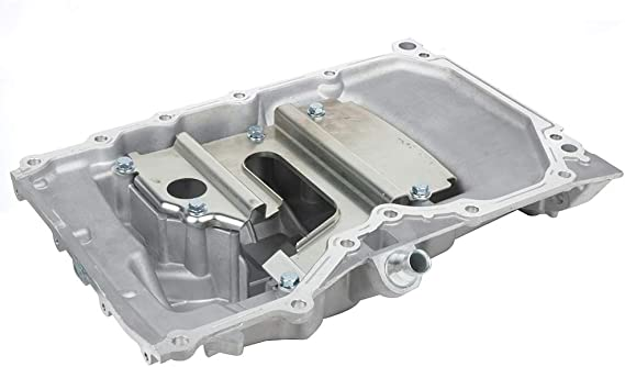 LSAILON Engine Oil Pan fit for Ford EcoSport Focus Transit Connect 2.0L 2004-2013 with OE 264-333 Oil Change Pan