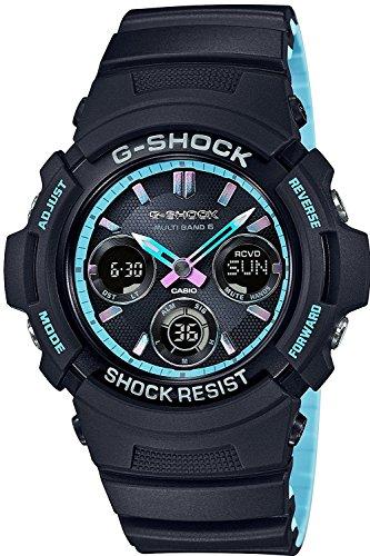 (CASIO watch G-SHOCK G shock Neon accent Color Solar radio AWG-M100SPC-1AJF Men's)