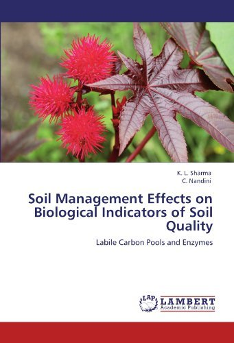 Soil Management Effects on Biological Indicators of Soil Quality: Labile Carbon Pools and Enzymes by K. L. Sharma (2012-02-06)