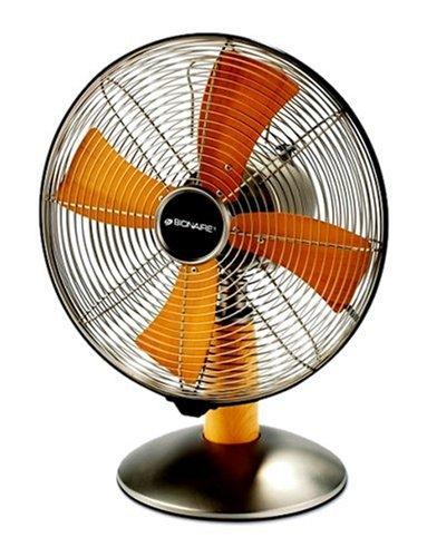 """220-240 Volt/ 50 Hz, Bionaire BAOF30B 12"""" Table Fan, OVERSEA"""