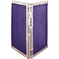 Flanders 10055.02163 EZ Flow II MERV 4 Economy Fiberglass Air Filter, 16X25X2 In, 12Per Case - 2488650