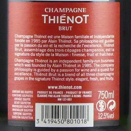 Amazon Co Jp Nv Brut Tieno Genuine Champagne Spicy White 25 4 Fl Oz 750 Ml Champagne Thienot Brut Food Beverage Alcohol