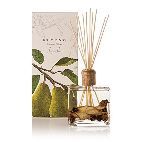 Rosy Rings Botanical Reed Diffuser, Anjou Pear by Rosy Rings