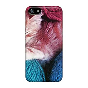 Cute RoccoAnderson An Orange White Kitten With Yarn Cases Covers For Iphone 5/5s