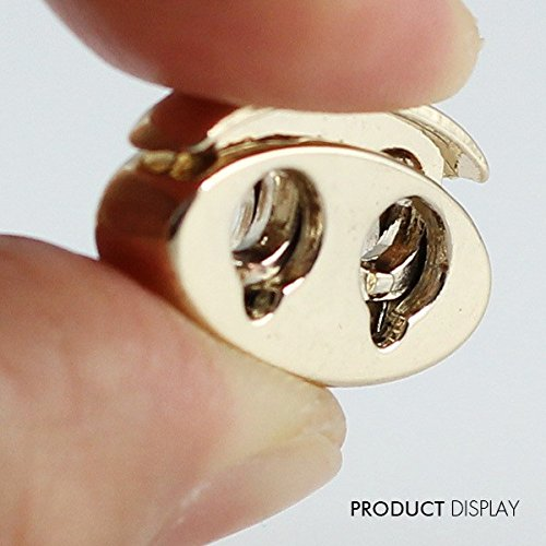 20pcs Gold Tone Metal Stopper Spring Toggle Buckle Cord Locks Claps Drawstring Sunbe