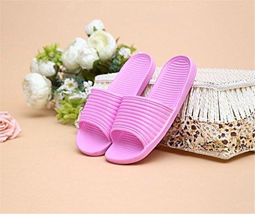 Skid pair Seasons 2 Non Bathroom Slippers Couple Anti Home Summer Bottom Soft A Women Men And Slip Four wOWAaq