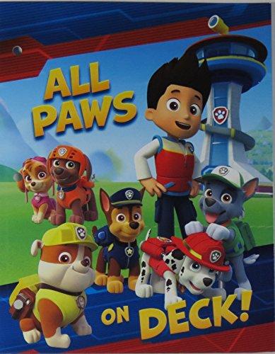 Paw Patrol Glossey Pocket Folders - 3 Pack Photo #3