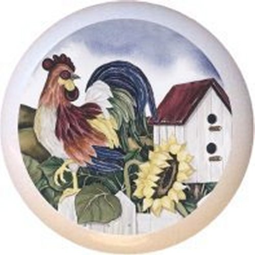 corelle rooster plates - 6