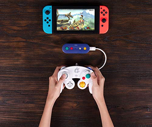 517l MFHOPL - 8Bitdo Gbros. Wireless Adapter for Nintendo Switch (Works with Wired GameCube & Classic Edition Controllers) - Nintendo Switch