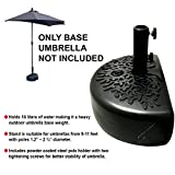 EasyGo Half Umbrella Base Weight – Water Weighted Universal Stand