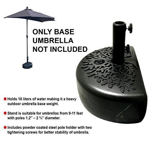 EasyGo Half Umbrella Base Weight