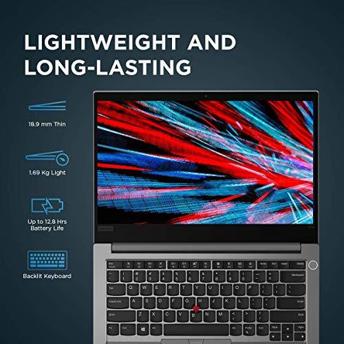 Lenovo ThinkPad E14 Intel Core i5 10th Gen 14-inch Full HD IPS Thin and Light Laptop (8GB RAM/ 512GB SSD/ Windows 10 Home/ Microsoft Office Home & Student 2019/ Silver/ 1.69 kg), 20RAS1G500