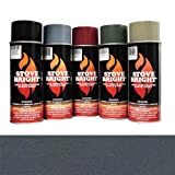 Moss Green - 1200 Degree Wood Stove High Temp Paint -