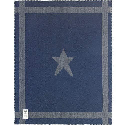 Woolrich Home Patriot Series Gettysburg Star Wool Blanket, Gray