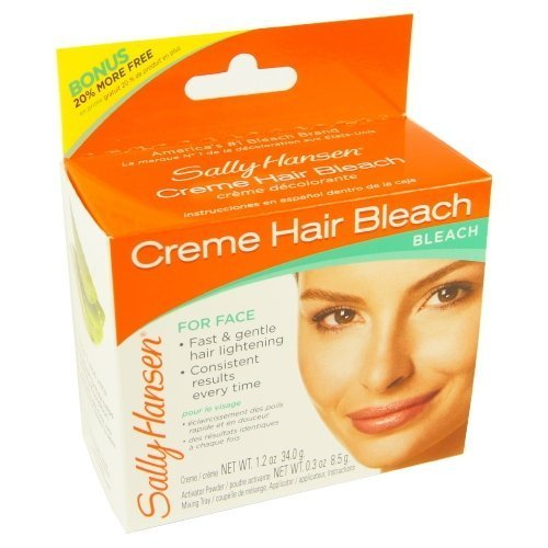 (3 Pack) SALLY HANSEN Creme Hair Bleach for Face - SH2000 by Sally Hansen