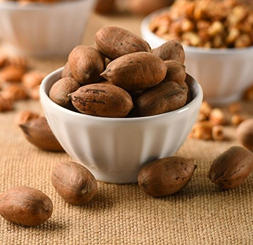 Pearson Farm In-Shell Georgia Pecans 5 lb Schley Papershell ()