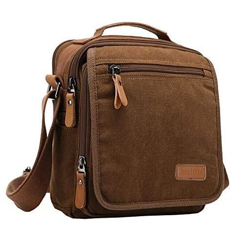 good Messenger Bags, Berchirly Vintage Men's Canvas Shoulder ...