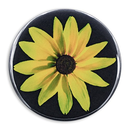 Black-Eyed Susan Photo Print, 2.25 Inch Pocket Mirror, Refrigerator Magnet or Pinback Button (Glass Print Susan)