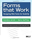 Forms that Work: Designing Web Forms for Usability