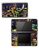 Teenage Mutant Ninja Turtles TMNT Leonardo Leo 3D TV Cartoon Movie Video Game Vinyl Decal Skin Sticker Cover for Original Nintendo 3DS System