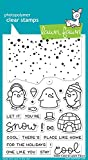 Lawn Fawn Clear Stamps - Snow Cool (LF1226)